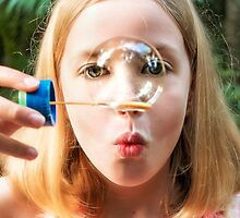 Blowing Bubbles.... by Tracie Louise