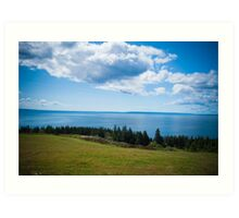 A view of the Bras d'Or Art Print