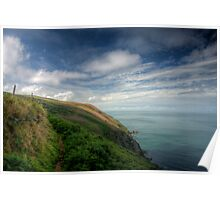 North Devon Coastal Path 2 Poster