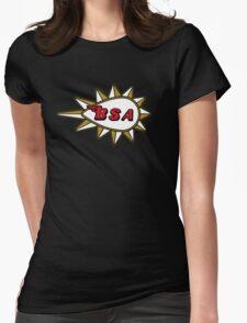 BSA Badge Womens Fitted T-Shirt