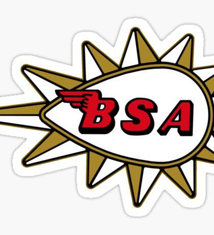 BSA Badge Sticker
