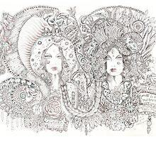Valerie- Guadalupe & Kali by metahoepfner