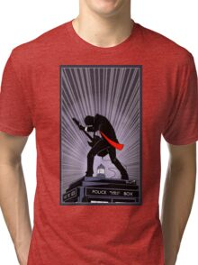 Doctor Who: Shredding Through Time Tri-blend T-Shirt