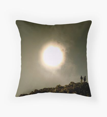 Staring at the Sun Throw Pillow