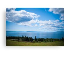 A view of the Bras d'Or Canvas Print