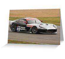 Team Osbourne Racing Ginetta G50 Greeting Card