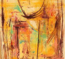 "No Walls House                22"" x 30"" soft pastel  05/10 by Shirley McMahon"