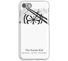 Karate Kid Movie Poster iPhone Case/Skin