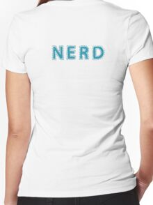 Nerd (aka: The Best People On Earth)  Women's Fitted V-Neck T-Shirt