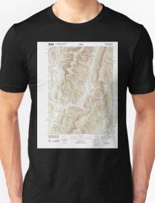 Massachusetts  USGS Historical Topo Map MA Hancock 20120604 TM T-Shirt