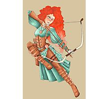 Steampunk Merida Photographic Print