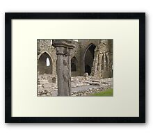 Jerpoint Abbey, Ireland Framed Print