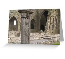 Jerpoint Abbey, Ireland Greeting Card