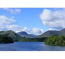 derwent water, keswick - bright and breezy! Photographic Print