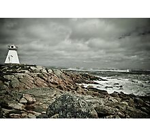 Sandy Point Lighthouse Photographic Print