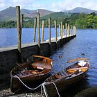 the jetty, keswick - inviting view! by monkeyferret