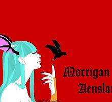 Morrigan Aensland of Darkstalkers by Xraiink