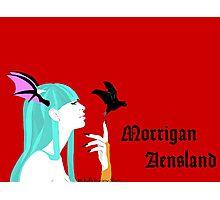 Morrigan Aensland of Darkstalkers Photographic Print