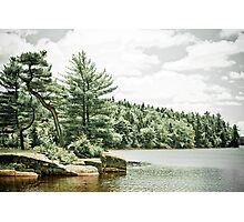 Isolated Lake Photographic Print