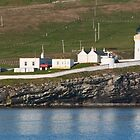 Bressay Lighthouse Shetland Isles by Panalot
