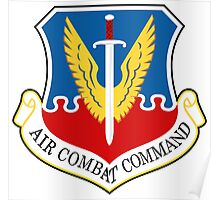AF Air Combat Command Poster