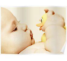 Rubber ducky, you're my very best friend it's true Poster