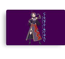 Sword Art Online- Yuuki Canvas Print