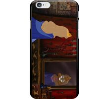Sleeping beauty emoji iPhone Case/Skin