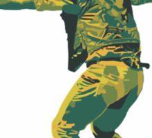 Jurassic World Chris Pratt Graphic Sticker