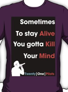 Twenty One Pilots Migraine  T-Shirt