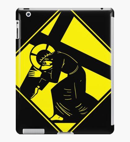 Jesus on a Crosswalk  iPad Case/Skin