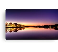 Glowing Foreshore Canvas Print