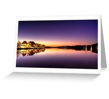 Glowing Foreshore Greeting Card