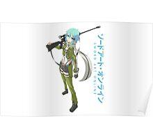 Sword Art Online- Sinon Poster