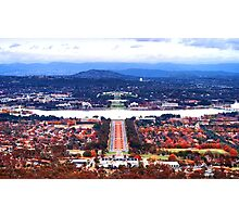 Heart Of Canberra Photographic Print