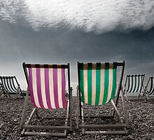 Brighton Beach by Drew Walker