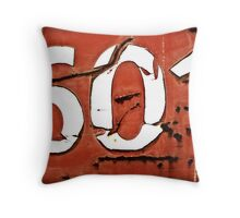 601 Throw Pillow