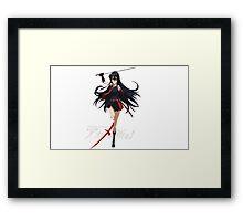 Akame Ga Kill- Akame Framed Print