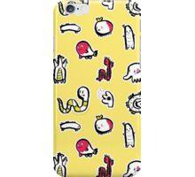 yellow pattern iPhone Case/Skin
