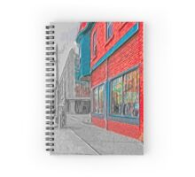 The Red Diner Spiral Notebook
