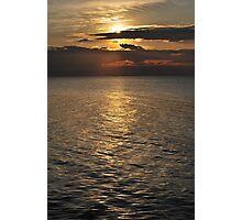 Bronze Lake Photographic Print