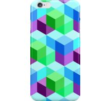 3D Cube Pattern iPhone Case/Skin