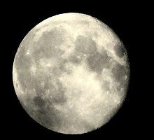 Earth,s full moon  by Kdfinephotoart