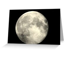 Earth,s full moon  Greeting Card