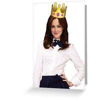 Blair Waldorf Greeting Card
