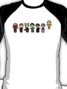 The Avengers in Halloween costumes T-Shirt