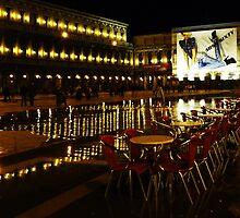 Aqua Alta, San Marco, Venice by artfulvistas
