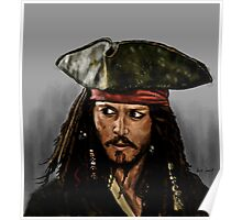JOHNNY DEPP, PIRATES OF THE CARRIBEAN Poster