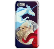 The Last Unicorn and The Red Bull iPhone Case/Skin