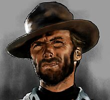 CLINT EASTWOOD by Wayne Dowsent